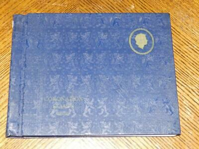 (4964) Qe2 Coronation Mint Stamp Collection In Album