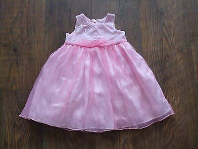 Z age size 2 years pink NEXT baby girls party dress sleeveless Kids SUMMER