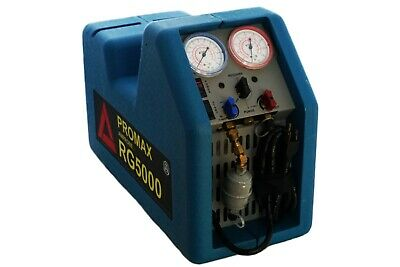 Promax Rg5000 Refrigeration Freon Ac Air Conditioner Recovery Machine Unit