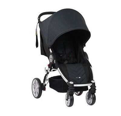 NEW Steelcraft Agile 4 - Black Linen | Baby Online Direct
