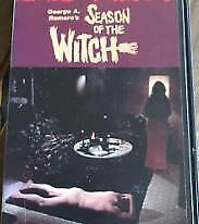 SEASON OF THE WITCH VHS Video Tape 1971 Horror Movie Film Japanese subtitled F/S