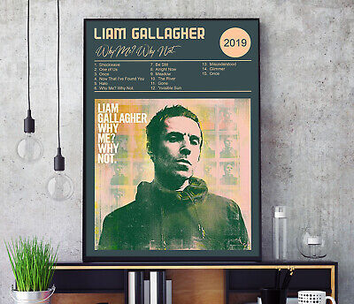Why Me? Why Not. (by Liam Gallagher) Album Cover Poster Professional Grade Print