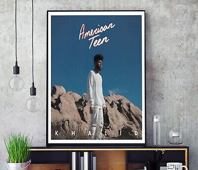 Khalid American Teen Music Art Fabric Poster Wall Decor HD Print