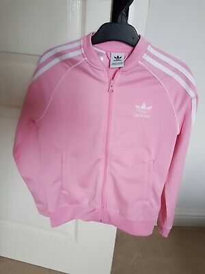 Girls Adidas Tracksuit Top Size 9-10