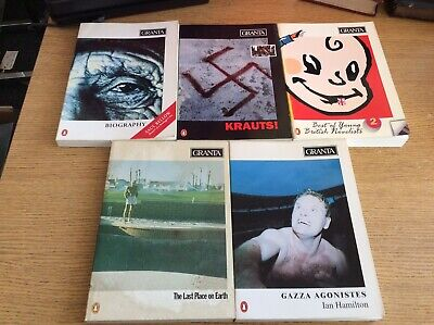 Granta Magazine, Issues 41, 42, 43, 44, 45