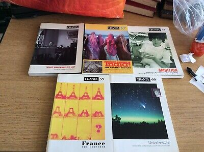 Granta Magazine, Issues 56, 57, 58, 59, 60