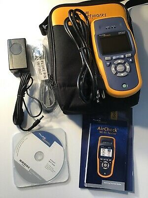 Fluke AirCheck WiFi Tester With Case And Charger