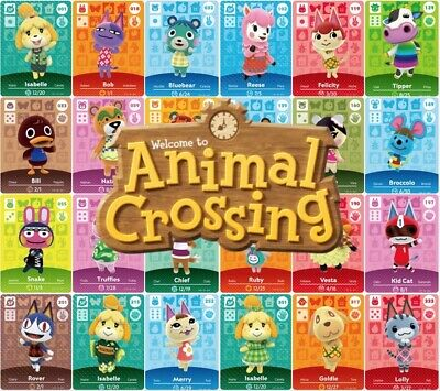 Animal Crossing Amiibo Cards | Series 3 & 4  #201-#400 | You Choose!