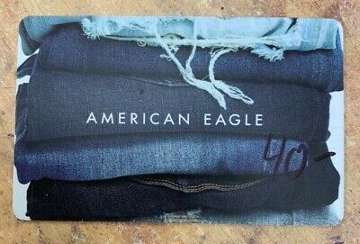 American Eagle Gift Card ~$40.00~ Value *Free Shipping!