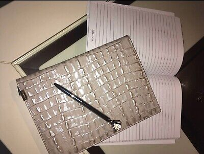 🥰Brahmin 2020 Planner/Datebook/Journal/Pen 'Warm Grey' NWT🥰