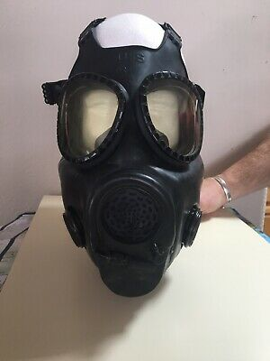 US Military M17 A2 Gas Mask Bio-Chem Small Extra Filters/ Inlet seals & bag