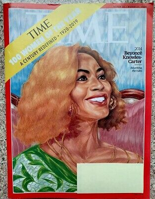 Time Magazine March 16 / March 23, 2020 - Beyonce Knowles Cover, Women of Year