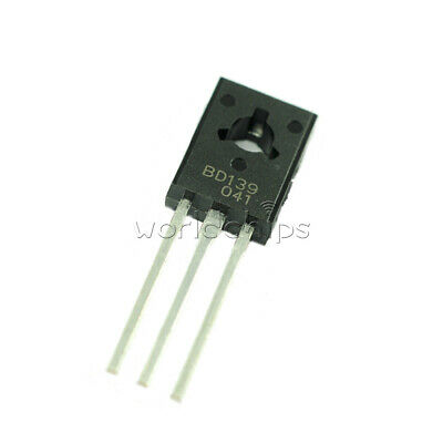 10Pcs BD139 Genuine ON Semiconductor NPN Transistor 1.5A//80V To-126 TO