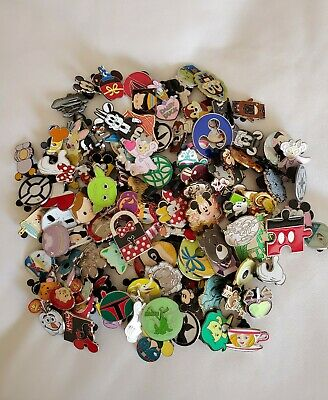 Disney Trading Pin 50 Lot No Doubles Hidden Mickey Limited Edition New Us Seller