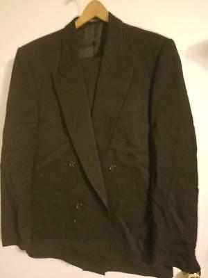 Zenio Blue Double Breasted 42 Regular Suit - Made in Italy    -  SALE SEE BELOW