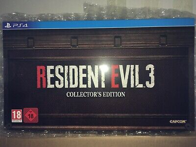 Resident Evil 3 Collector's Edition European Version [Ps4]