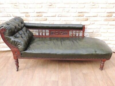 Antique Chaise Lounge Chesterfield (UK Delivery possible)