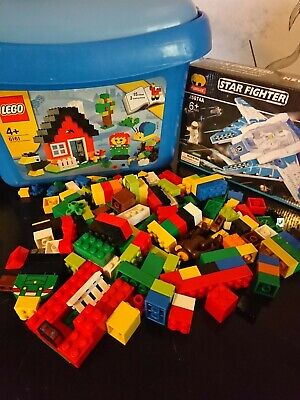 LEGO 6161 Classic  Brick Box, Easy Toy Storage, with jubilux set. Bundle