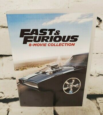 DVD Fast & Furious 8-Movie Collection