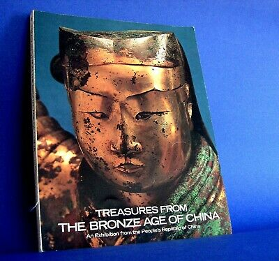 Chinese Army Treasures 1980 Exhibition Catalog From THE BRONZE AGE OF CHINA 1st