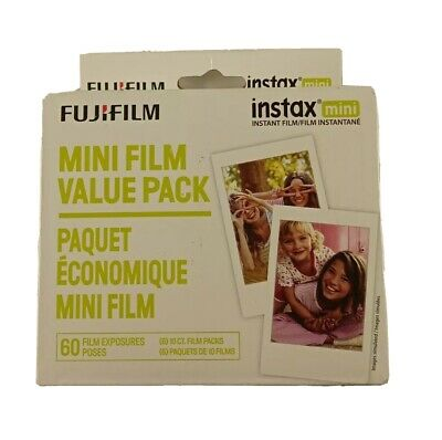 Fujifilm - instax Mini Film Value Pack (50 Sheets) - White 09/21