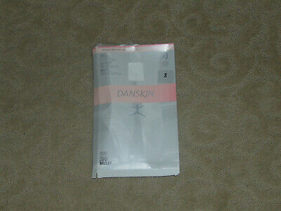 New Danskin Ultrasoft Microfiber Girls White Tights - Small (4-6) - Free Ship