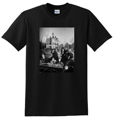 THE ADDAMS FAMILY T SHIRT tv show season 1 2 SMALL MEDIUM LARGE or XL