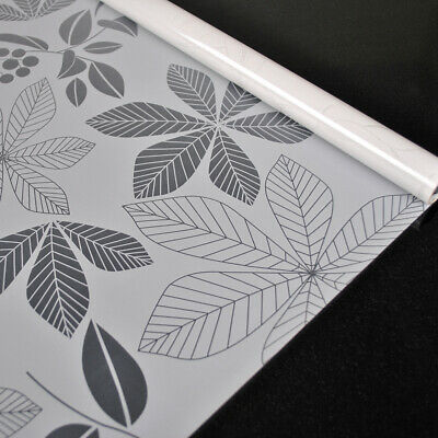 Snow  900mm//m d-c-fix Sticky Plastic Self-Adhesive Transparent Vinyl Window Film