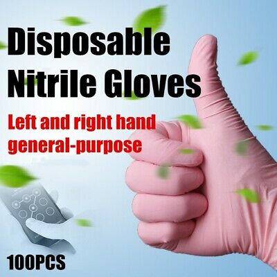 Disposable Nitrile Gloves Latex Home Cleaning Anti-Slip Food Gloves Work Tools