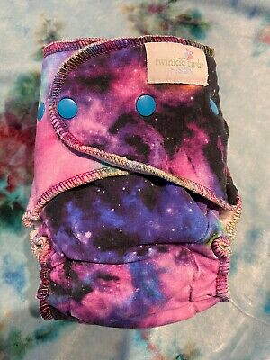 Galaxy Twinkie Tush OS Fusion Fitted Cloth Diaper