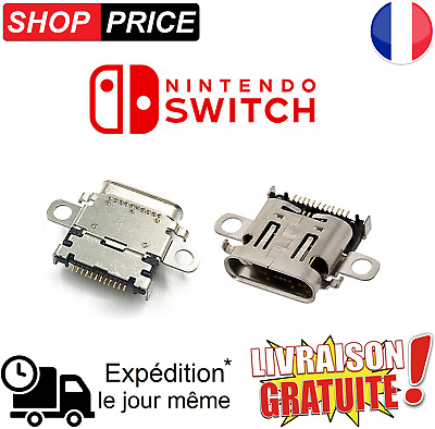 Connecteur de charge alimentation port USB Type C pour Nintendo Switch NS