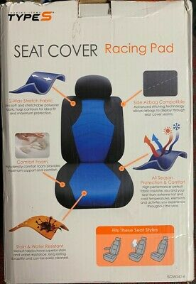 Type S: seat cover racing pad