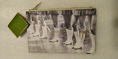 Kate Spade New York Kick Up Your Heels Pencil Pouch Pouch is Empty FREE SHIPPING