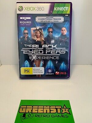The Black Eyed Peas Experience Xbox 360 🇦🇺 Seller Free And Fast Postage