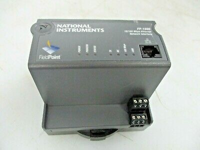 National Instruments 10/100 Mbps Ethernet Network Interface Fp-1600