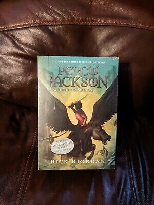 Percy Jackson and the Olympians 5 Book Set with poster (Paperback, 2014) NEW!  1