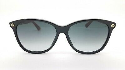 NWD New Gucci sunglasses GG0024S 003 58mm Black Grey Gradient AUTHENTIC GG29S
