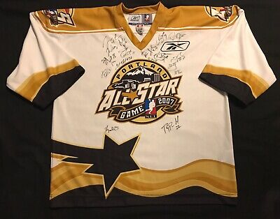 Reebok NLL Lacrosse Portland All Star Game 2007 Jersey Signed Autograph Size 54