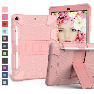 Shockproof Tablet Protective Case with Stand For Apple iPad 7th Generation 10.2'