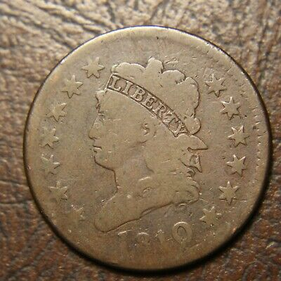 1810/09 Classic Head Large Cent, S-281