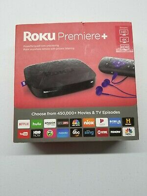 Roku Premiere+ - HD and 4K UHD Streaming Media Player with HDR 4630R