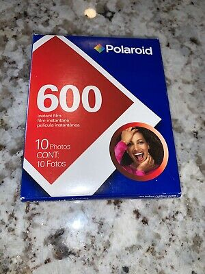 Polaroid 600 Instant Film 1 Pack Photos Expired 08/2008 New Old Stock Sealed