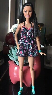 Barbie Made To Move Doll, Ooak, with outfit