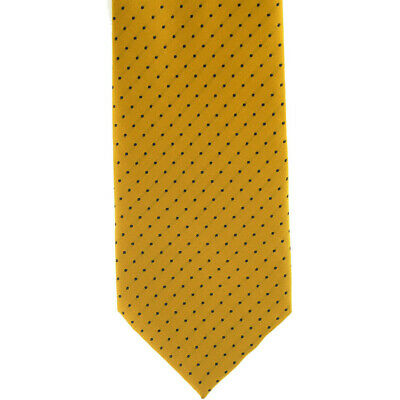 Showquest Pin Spot Unisex Accessory Tie - Sunshine Navy All Sizes
