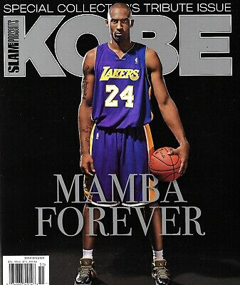 SLAM Magazine PRESENTS KOBE MAMBA FOREVER SPECIAL COLLECTOR'S  ISSUE TRIBUTE