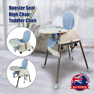 3 in 1 Baby Infant Dining High Chair Toddler Eating Feeding Table Booster Seat M