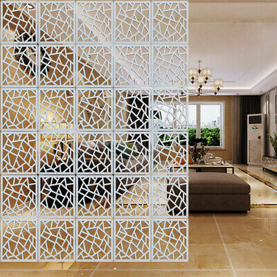 """4//8//12x Divider Partition Hanging Screen Wall Decals DIY Room Curtain Decor 15/"""""""