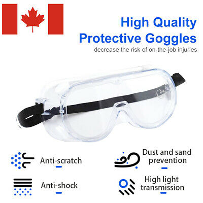 Eye Protective Glasses Lab Outdoor Work Anti Fog Clear Factory Goggles Safety