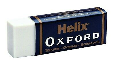 Helix Oxford Pencil Erasers Rubber Large Size Premium Quality Hb School Art Draw