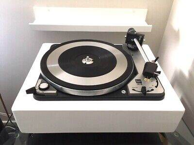DUAL 1019 Idler Drive Turntable with Custom Plinth and Upgraded Headshell